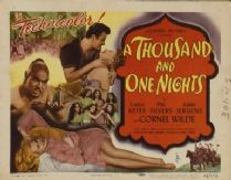 A Thousand and One Nights 1945 DVD - Evelyn Keyes / Phil Silvers